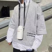 【TREND】レイヤービックサイズシャツフーディー 2カラー
