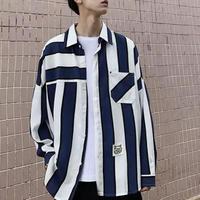 【DOPE】ホワイトボーダーデザインシャツ 2カラー