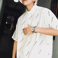 [HOT]BALANCEDデザインシャツ 2カラー
