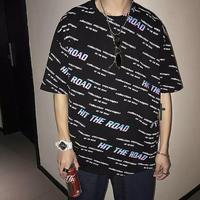 ワードオーバーサイズTシャツ【LA00178】