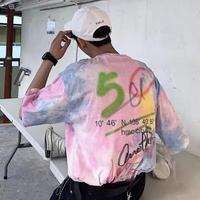 【COOL】レインボーデザインTシャツ
