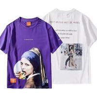 【STREET】ハンバーガーデザインTシャツ 4カラー