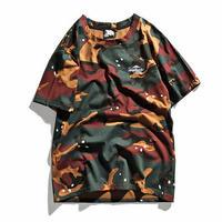 [GOOD]3カラーデザイン迷彩Tシャツ