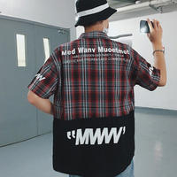 【数量限定】バイカラーMWWシャツ 3カラー