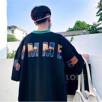 【数量限定】SUMMERデザインビックTシャツ 4カラー