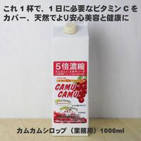 カムカム5倍濃縮飲料 1000ml(業務用)30%果汁