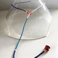 Stone beads 2way necklace/ Bracelate