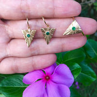 Isosceles triangle / ring / pierce