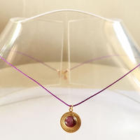 1stone silk code/ Star ruby/ purple