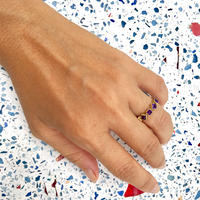 Life goes on Ring / Amethyst