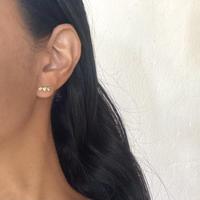 3stone pierce / peridot