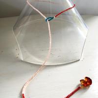 Stone beads 2way necklace / Bracelate