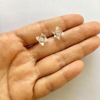 Sample sale / Six point star / Crystal pierce