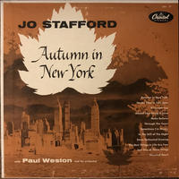 Jo Stafford/Autum In New York (Capitol T197)MONO オリジナル盤