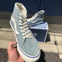 OG Sk8-Hi LX (Suede/Canvas) Blue Gray -VANS VAULT LINE-