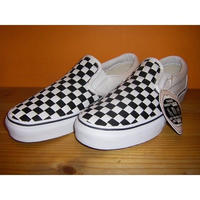 Classics Slip-On (WovenCheck canvas) -VANS VAULT LINE-