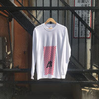 CHECKERBOARD LONG SLEEVE TEE / ANEX ORIGINALS