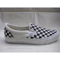 OG Classic Slip-On LX (Checkerboard) BLACK -VANS VAULT LINE-