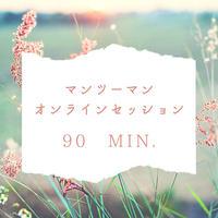 ZOOMセッション  (マンツーマン90分)