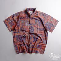 ALFRED SHAHEEN レインスプーナー/reyn spooner アロハシャツ Mサイズ(A-267)
