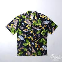HILO HATTIE THE HAWAIIAN ORIGINAL アロハシャツ  Mサイズ(A-208)