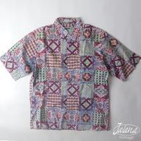 80~90年代初期レインスプーナー/reyn spooner アロハシャツMサイズ(A-044)