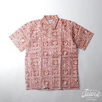 デッドストック 90年代レインスプーナー/reyn spooner アロハシャツSサイズ(A-077)