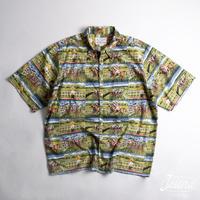 GUY BUFFET レインスプーナー/reyn spooner アロハシャツ Lサイズ(A-263)