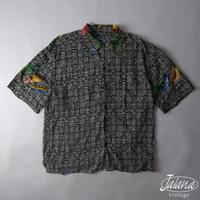 80~90年代初期 レインスプーナー/reyn spooner アロハシャツ Mサイズ(A-030)