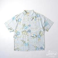トミーバハマ/Tommy Bahama アロハシャツ XLサイズ(A-180)