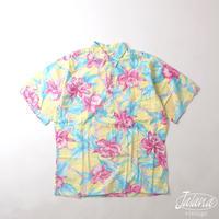 90年代 GO BAREFOOT アロハシャツ Mサイズ(A-257)