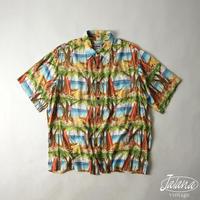 80年代 レインスプーナー/reyn spooner アロハシャツ Mサイズ(A-000)