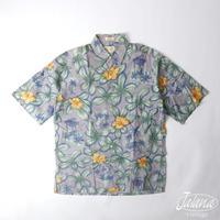 レインスプーナー/reyn spooner アロハシャツSサイズ(A-058)