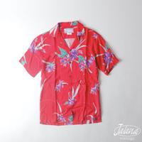 ブルーハワイ/Blue Hawaii  アロハシャツ XSサイズ(A-111)