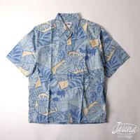 90年代 レインスプーナー/reyn spooner アロハシャツ Sサイズ(A-009)