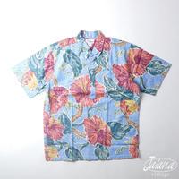 デッドストック 90年代 レインスプーナー/reyn spooner アロハシャツ Lサイズ(A-189)
