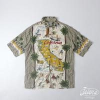 80~90年代初期レインスプーナー/reyn spooner アロハシャツSサイズ(A-100)