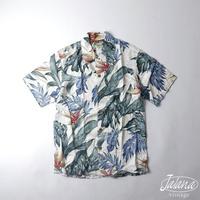 デッドストック カメハメハ/Kamehameha アロハシャツSサイズ(A-101)