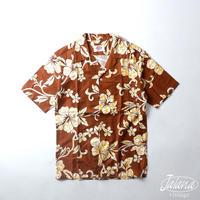 70年代 ポマレ/POMARE アロハシャツ Mサイズ(A-200)