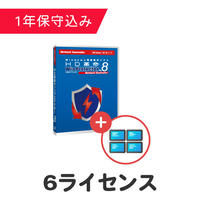 HD革命/WinProtector Ver.8 Network Controller + モニタリングオプション 6ライセンス(保守込)