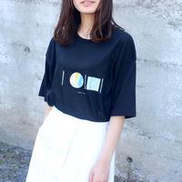 「AWAI KO I」Tシャツ / 003 (black)