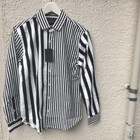 ツイルストライプクレイジーシャツ