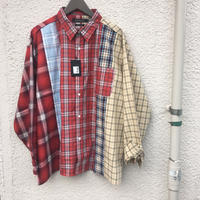 <2018.SS新作>【日本製】5カットチェックオーバーシャツ