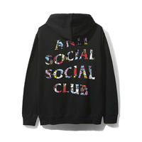 ANTI SOCIAL SOCIAL CLUB / ASSC X BT21 Collab - Blended Black Hoodie