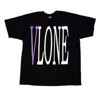 VLONE  LOGO TEE / BLACK _ PURPLE