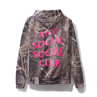 ANTI SOCIAL SOCIAL CLUB  CATSKALE HOODIE / WOOD