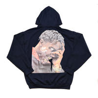 "ARABIA AMOUR PULLOVER HOODIE ""LA FLAME"" / NAVY"