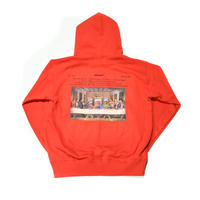 AMOUR / THE LAST RAPPER PULLOVER HOODIE / RED