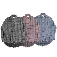 AMOUR / TWEED OVER SHIRT
