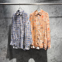AMOUR / GRAFFITI CHECK SHIRT PART 1